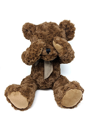 """Shy"" - 32cm Bear with Magnetic Hands"