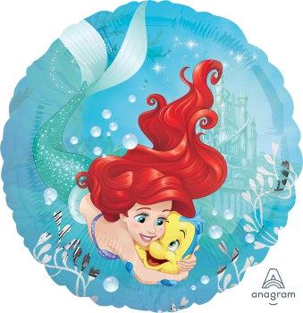 "18"" / 45cm Ariel Little Mermaid Foil Balloon"
