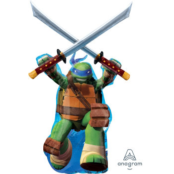 Supershape Teenage Mutant Ninja Turtle Foil Balloon