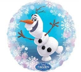 "18"" / 45cm Olaf the Snowman Frozen Foil Balloon"