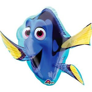 Supershape Finding Dory Foil Balloon