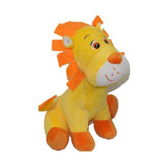 """Leo"" - 25cm Yellow Lion"