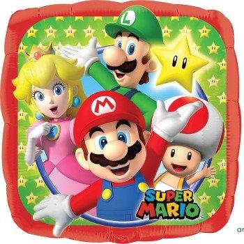 """18"""" / 45cm Mario Bros Foil Balloon"""