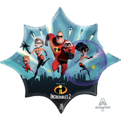 Supershape The Incredibles Foil Balloon