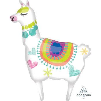 Supershape Llama Foil Balloon