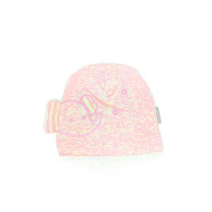 Pink Elephant Baby Beanie