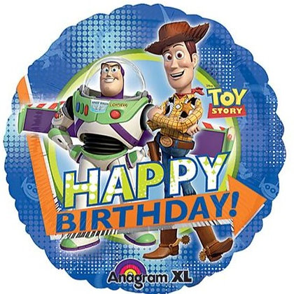 "18"" / 45cm Toy Story Happy Birthday Foil Balloon"