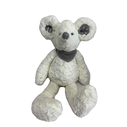 """""""Stuart"""" - 25cm White Mouse"""