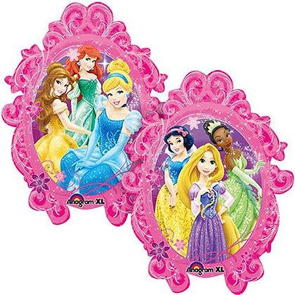 Supershape Disney Princesses Frame Foil Balloon