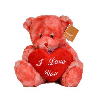 """""""Lava"""" - 25cm Bear with Heart"""