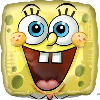 "18"" / 45cm Spongebob Square Pants Foil Balloon"