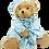 """Thumbnail: """"Jamie"""" - 30cm PJ Bear"""