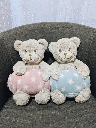 """""""Benny"""" - 25cm Blankie Bear"""
