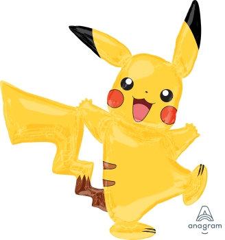 Supershape Pikachu - Pokemon Foil Balloon