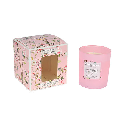 Rose Lychee 330g Soy Candle