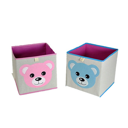 Foldable Toy Box Cube