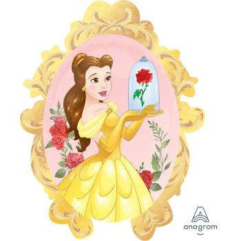 Supershape Belle - Beauty & The Beast Foil Balloon
