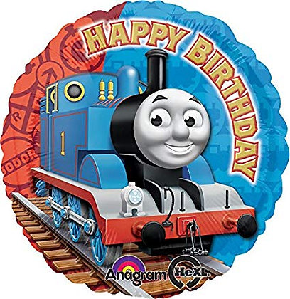 "18"" / 45cm Thomas The Tank Engine Happy Birthday Foil Balloon"