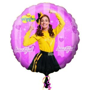 "18"" / 45cm Emma Yellow Wiggle Foil Balloon"