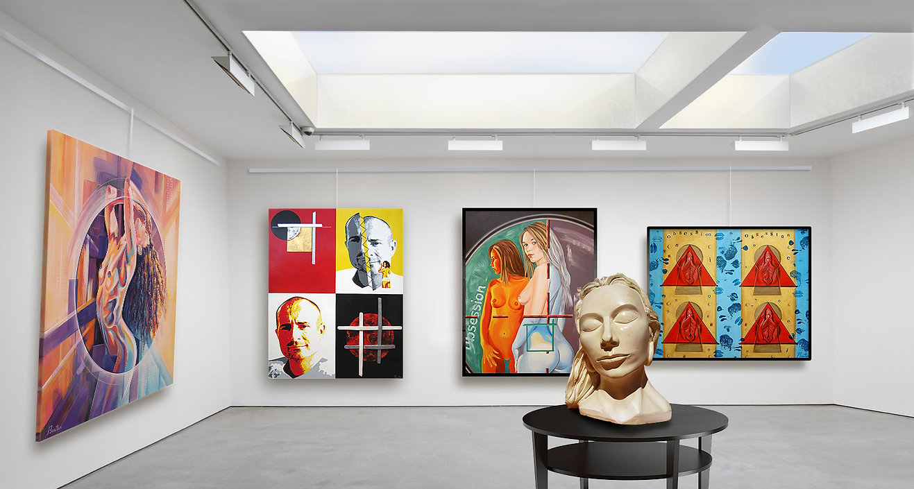Galerie peinture, artiste Olivier Boutin Art'Style