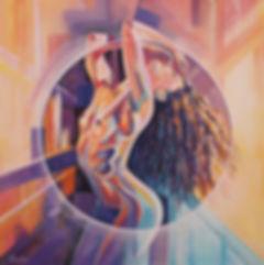 peinture de femme nu