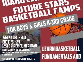 3 Fall Basketball Camps