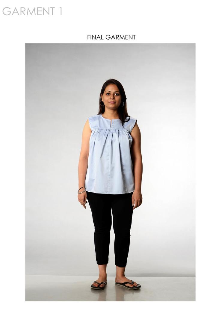 Final garment 1 on model
