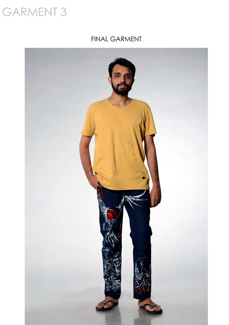 Final garment 3 on model