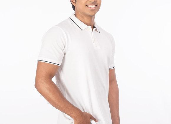 Antiviral half sleeve polo t-shirt