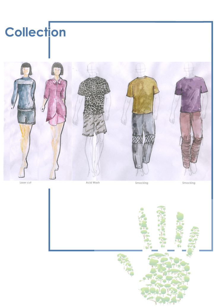 Sketch of final collection