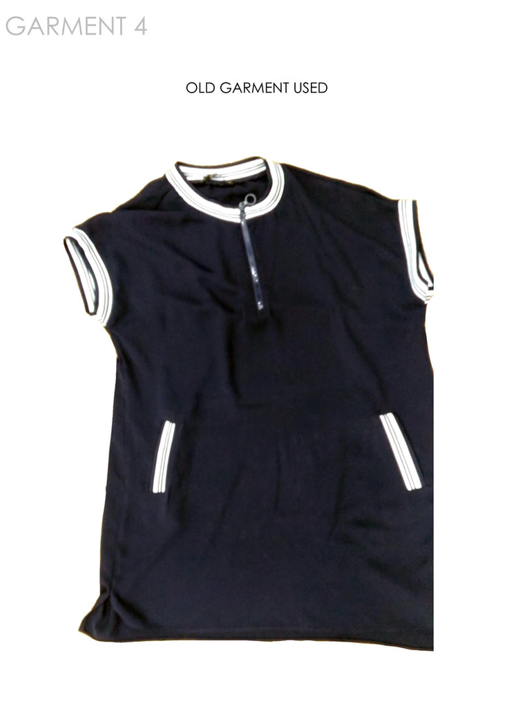 Old garment used
