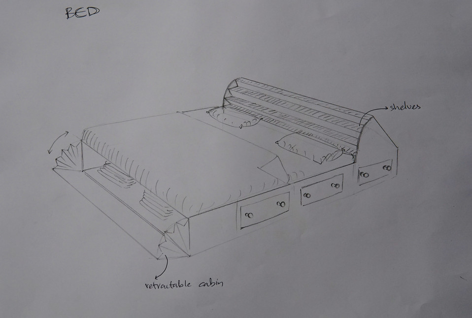 Bed, inspired by Harmonium