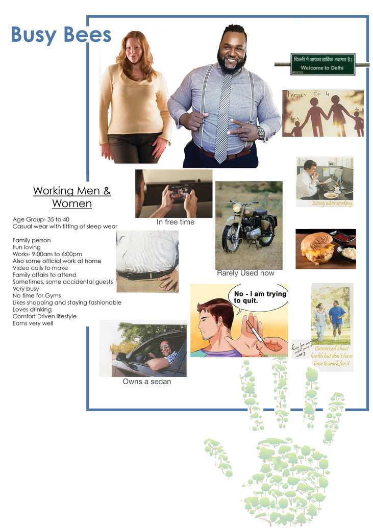 Mood Board (Lounge Wear for people with fit body and little over weight can wear comfortably)
