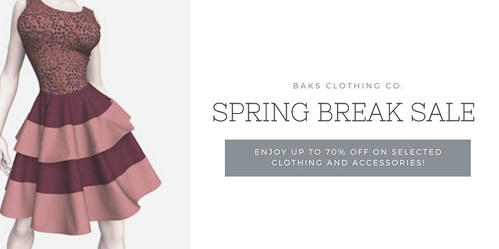 Grey Fashion Spring Sale Twitter Post.pn