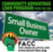 SBA community advantage loan program
