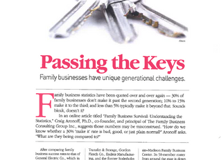 Passing the Keys