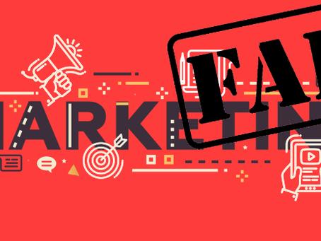 Has Your 2019 Marketing Already Failed?