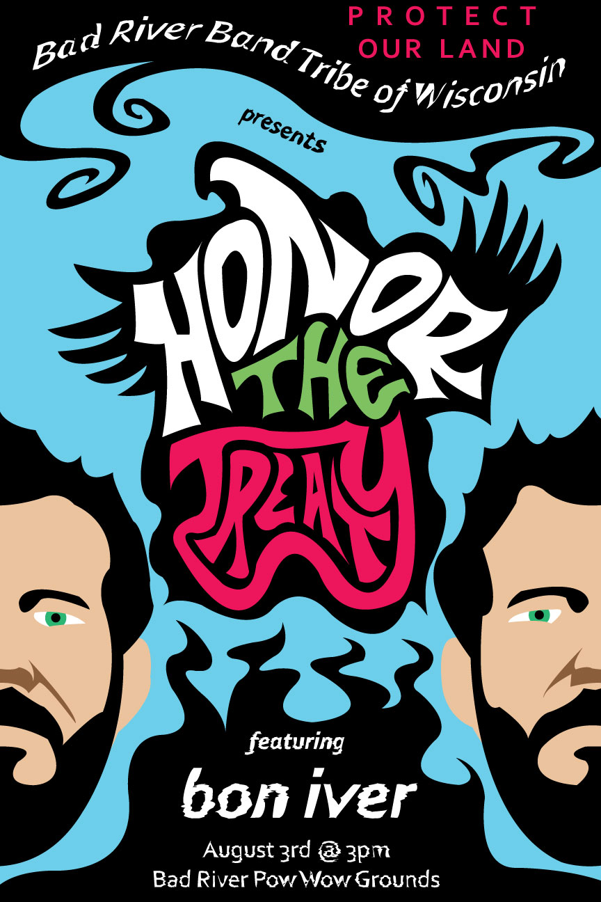 Honor The Treaty Poster