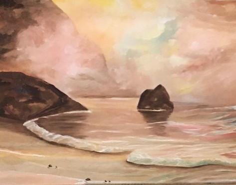 Seascape ( oil )