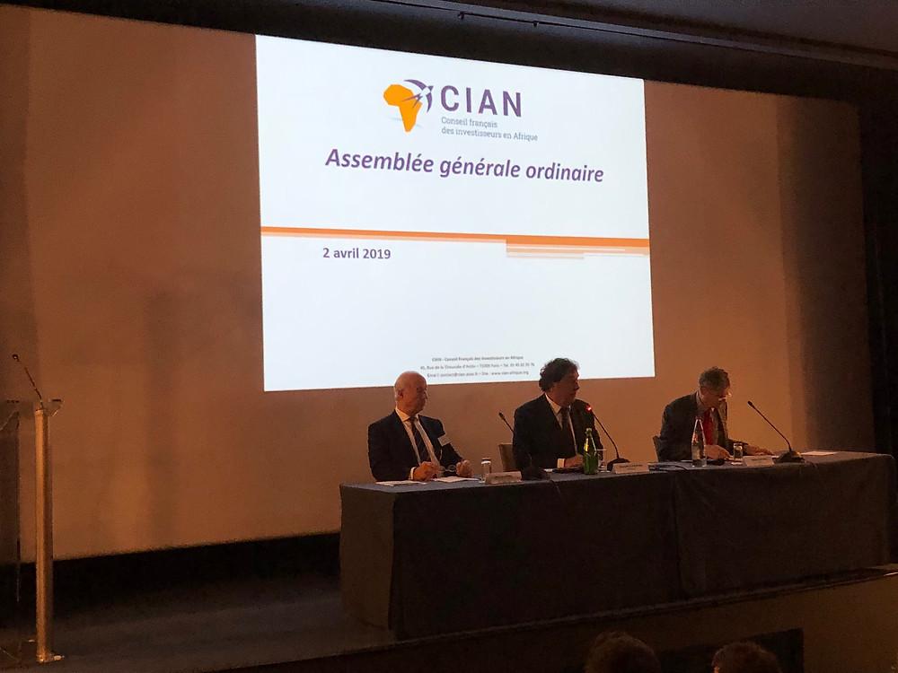 Assemblée générale du CIAN