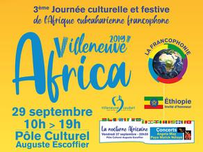 Villeneuve'Africa N°3 le 29 septembre 2019