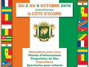 Nice Fête l'Afrique  du 2 au 5 octobre 2019