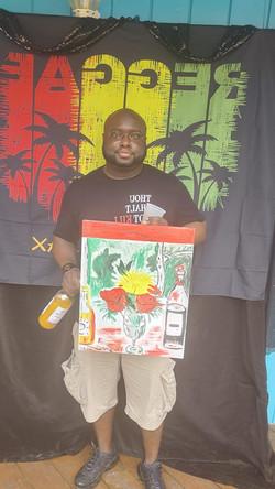 Reggae Paint & Sip 2020_4