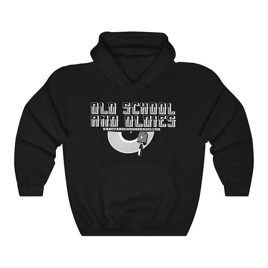 Old School and Oldies Hooded Sweatshirt