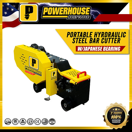 Portable Hydraulic Steel Bar Cutter
