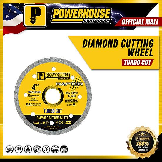 Diamond Cutting Wheel Turbo Cut (Raptor Series)