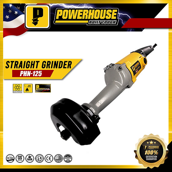 PowerHouse Straight Grinder 710W / 10,000rpm (PHN-125)