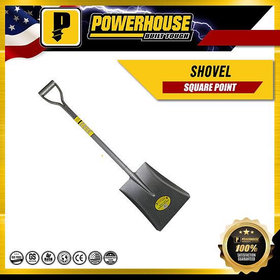 Square Point Shovel