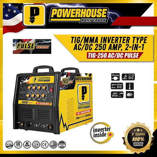 TIG Inverter Welding Machine (TIG-250 AC/DC PULSE)