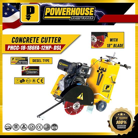 Concrete Cutter Diesel Engine